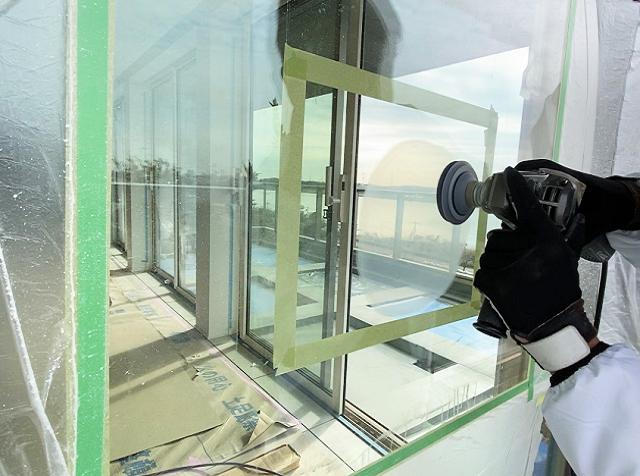 ガラス再生研磨技術