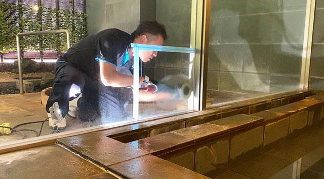 ガラス 研磨